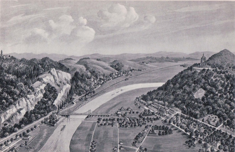 Porta Westfalica mit Weserbergland
