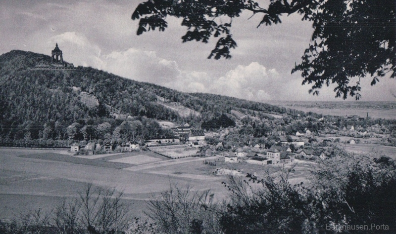 Blick vom Jakobsberg auf Barkhausen