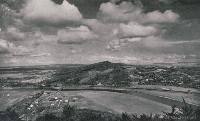 Blick vom Wittekindsberg auf den Jakobsberg