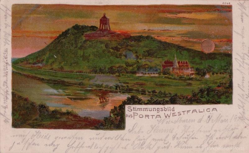 Stimmungsbild aus Porta Westfalica