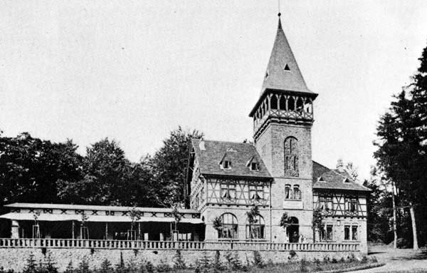 Alte Aufnahme der Wittekindsburg