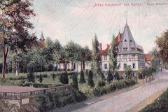 Hotel Kaiserhof mit Garten