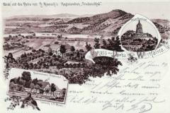 Blick auf die Porta mit Rienschs Restauration Friedensthal
