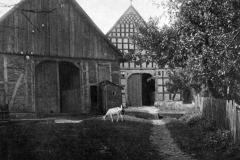 Alter Bauernhof mit Fachwerk