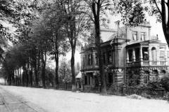 Altes Foto der Villa Hutze