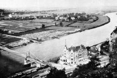 Altes Foto von der Kettenbrücke