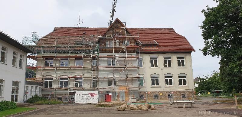Baustelle Grundschule 2020