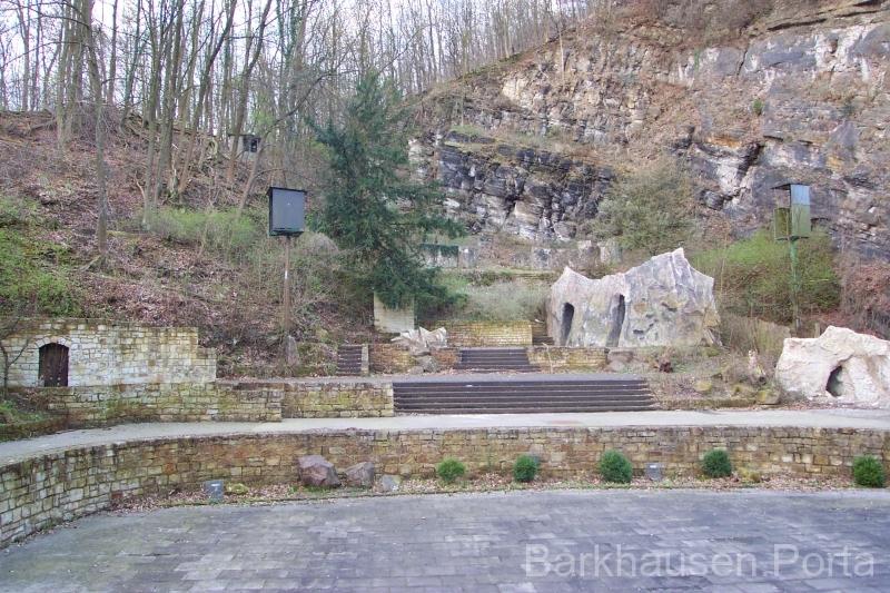 Innenraum Goethe Freilichtbühne 2001