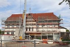 Sanierung des alten Schulgebäudes 2020 Frontseite