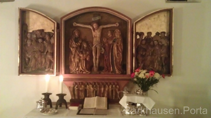 Altar in der Dorfkapelle