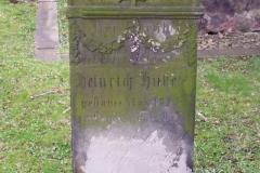 Grabstein Heinrich Huke