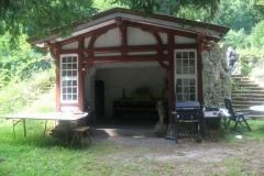 Pavillon mit Dachterasse