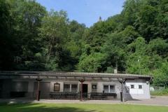 Schützenhaus unter dem Kaiser-Wilhelm-Denkmal