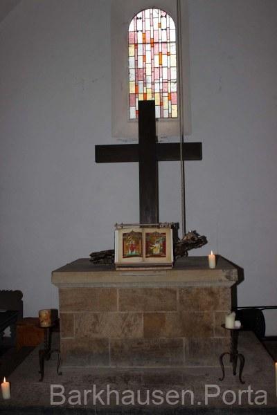Altar im Margarethen-Klus